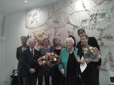 Jury en winnaars en EVS