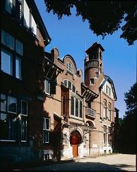 Villa Rams Woerthe - Detail Voorgevel